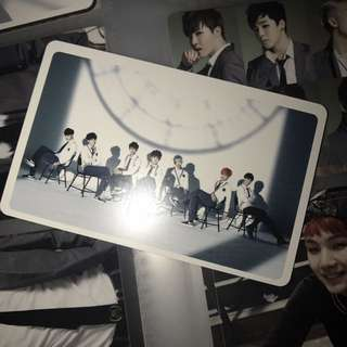 BTS 團體 小卡