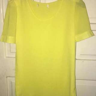 Nice yellow blouse
