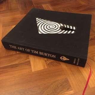 Tim burton Art book