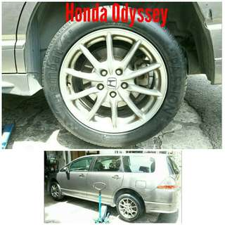 Tyre 215/55 R17 Membat on Honda Odyssey 🐓 Super Offer 🙋