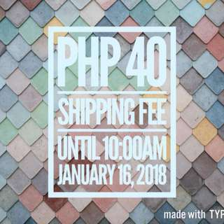 DISCOUNTED SHIPPING FEE