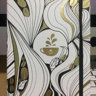Coffee Bean and Teal Leaf Planner 2018