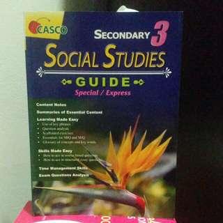 (O'LEVEL) Social Studies guide