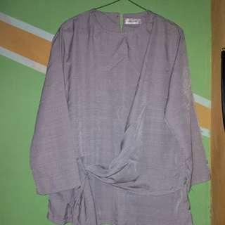 blouse Abu/grey