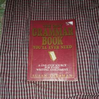 Susan Thurman The Only Grammar Book You'll Ever Need