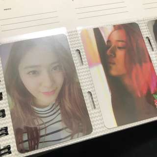 Krystal 鄭秀晶 Red Tape/ 4walls小卡