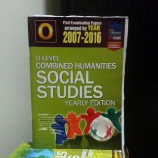 (O'LEVEL) Social Studies TYS (2005-2014 and 2007-2016)