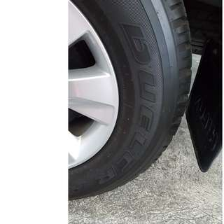 TIRES ( Bridgestone Deuler A/T 265 65R17) Rim not included
