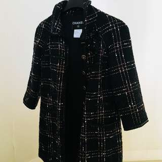 Authentic Chanel Tweed Jacket