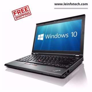 "Thinkpad Lenovo X230 12.5"" LED Notebook i5-3320#2.6Ghz 3rd Gen 4GB RAM 320GB HDD Win 10 Pro"
