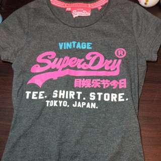 Superdry 100%正品 親戚去日本outlet購入