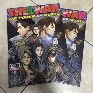 EXO The 4th Repackaged The Power of Music album