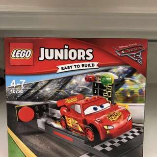 Lego Juniors Cars 3 Lightning McQueen Set 10730
