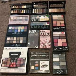 Brand new eye shadow palettes
