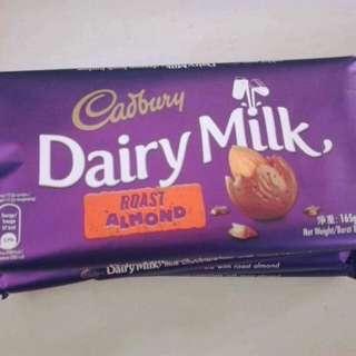 Cadbury Dairy Milk 165g
