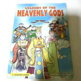 Legends Of Heavenly Gods