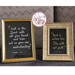 QUOTES IN FRAME