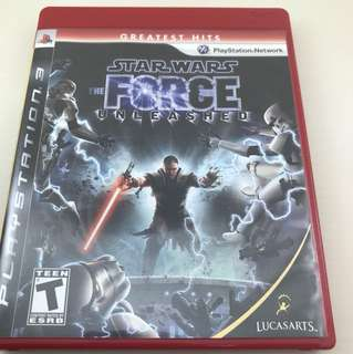PS3 Game: Star Wars the Force Unleashed