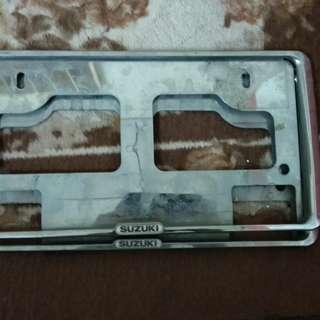Suzuki Frame Plate JDM