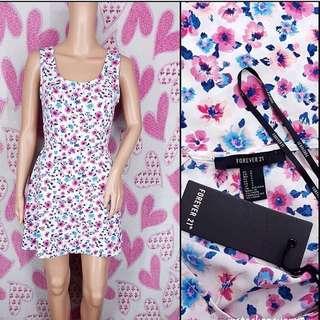 F21 floral dress