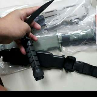 Plastic bayonet toy