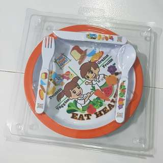 MFS Plate and Cutlery