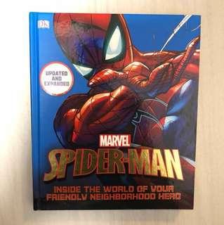 Spiderman Inside the world of your friendly neighbourhood hero (latest version) 蜘蛛俠 資料集 Marvel Avengers 復仇者