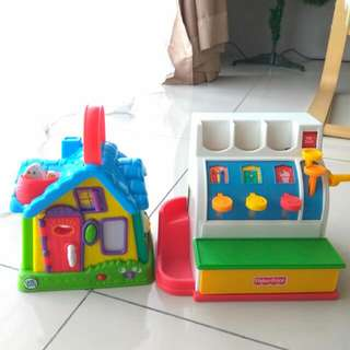 All For Rm55 Fisher Price Cashier Box And Leapfrog Learning Toy