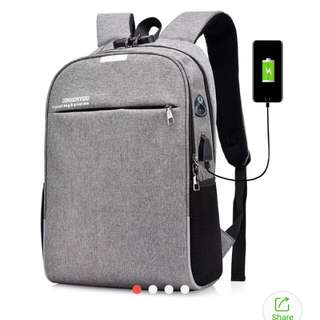 backpack password lock anti theft