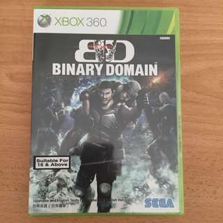 #Contiki2018 XBOX 360: Binary Domain (BNIB)
