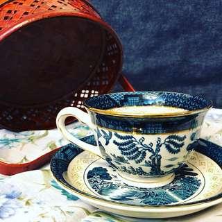 山水圖茶杯組