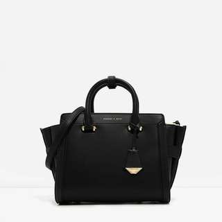 Charles n Keith Trapeze Bag