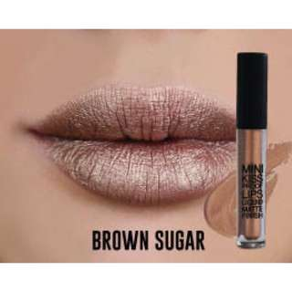 KLARA COSMETICS KISS PROOF MINI LIPS LIQUID MATTE FINISH BROWN SUGAR 4ML #Contiki2018