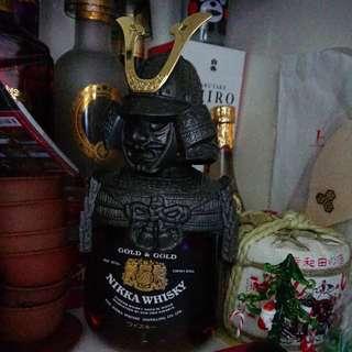 Nikka盔甲 whisky