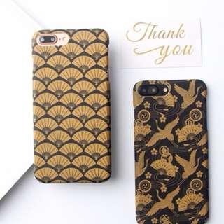 Oriental Fan WindCrane Iphone 6/6+/7/7+/8/8+ Mobile Casing