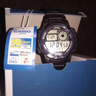 Casio AE-1000W-1AVCF Sport Watch