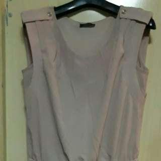 Blousy Dress Khaki