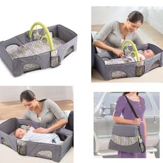 Travel Bed For Baby (FREE LAMPU)
