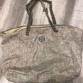 Tory burch bag with chain