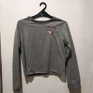 Cropped sweater LAkers