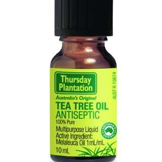 [FREE MAIL]Thursday Plantation Tea Tree Oil 10ml