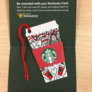 Starbucks Gift Card with 10$ value