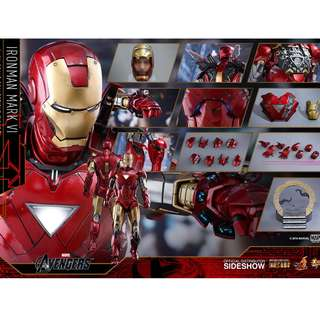 WTB Hot Toys 1/6th Ironman Mark 6 Diecast