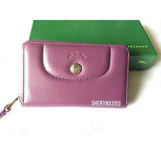 Longchamp Cuir Wallet