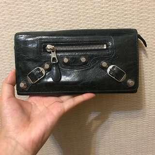 Balenciaga Wallet (黑配銀大釘)