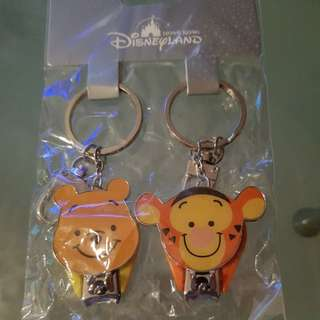 Disneyland keychain with nail clipper
