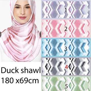 Duck scarves