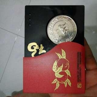 Silver Zodiac MONKEY coin collection