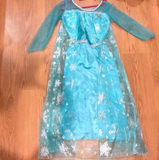 Dress -frozen 4-5age