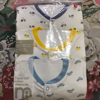 Sleepsuit Mothercare 12-18m